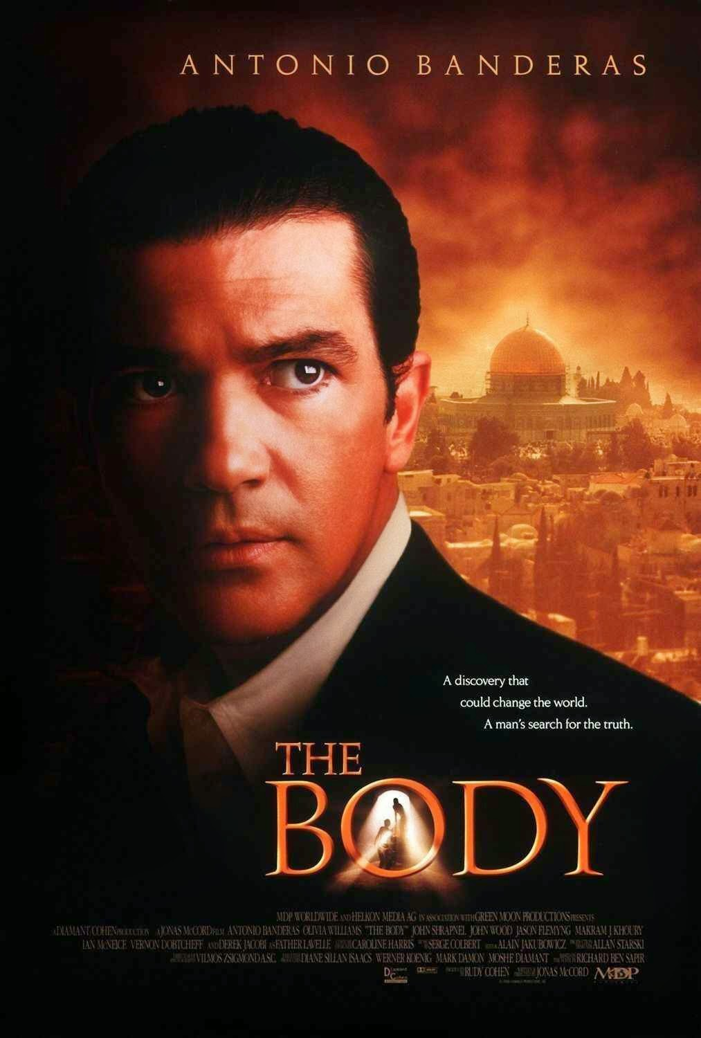 Cartel película The body