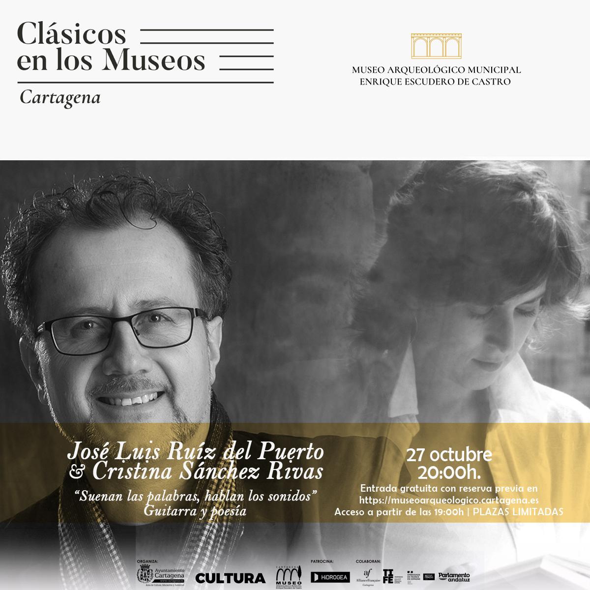 Cartel Jose Luis Ruiz del Puerto y Cristina Sánchez